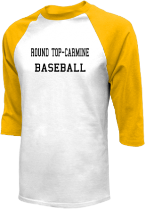Round Top-carmine High School Raglan Shirts