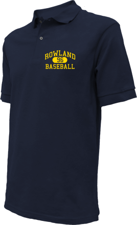 Rowland High School Embroidered Polo Shirts