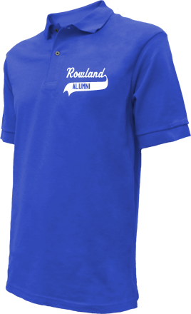 Rowland Middle School Embroidered Polo Shirts
