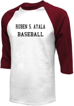 Ruben S. Ayala High School Raglan Shirts