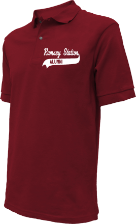 Rumsey Station Elementary School Embroidered Polo Shirts