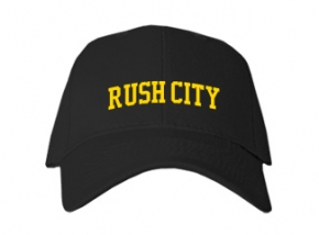 Rush City High School Kid Embroidered Baseball Caps