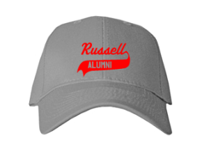 Russell Elementary School Embroidered Baseball Caps