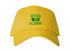 Ryan Middle School Embroidered Baseball Caps
