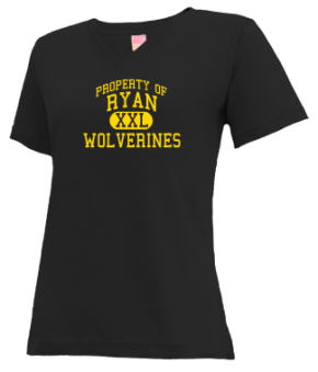 Ryan Middle School V-neck Shirts