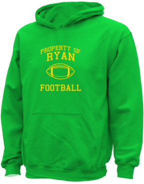 Ryan Middle School Kid Hooded Sweatshirts