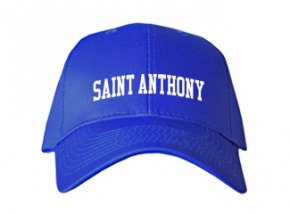 Saint Anthony Middle School Kid Embroidered Baseball Caps