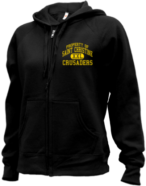 Saint Christine School Zip-up Hoodies