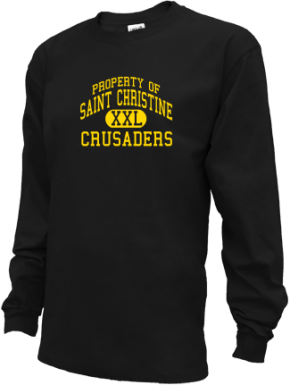 Saint Christine School Kid Long Sleeve Shirts