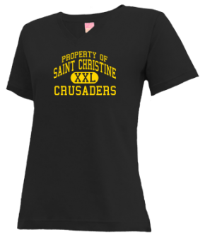 Saint Christine School V-neck Shirts