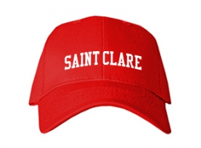 Saint Clare School Kid Embroidered Baseball Caps