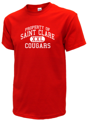 Saint Clare School Kid T-Shirts