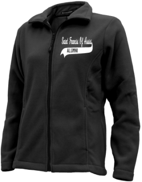 Saint Francis Of Assisi School Embroidered Fleece Jackets