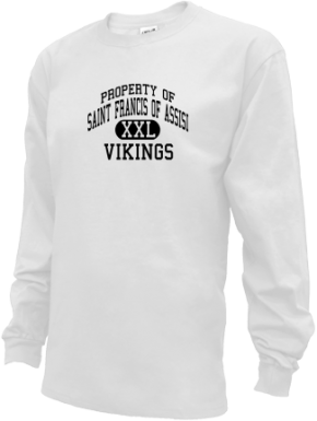 Saint Francis Of Assisi School Kid Long Sleeve Shirts