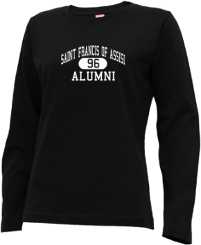 Saint Francis Of Assisi School Long Sleeve Shirts