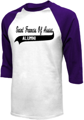 Saint Francis Of Assisi School Raglan Shirts