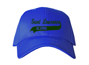 Saint Lawrence School Embroidered Baseball Caps