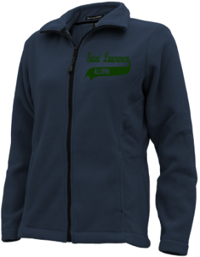 Saint Lawrence School Embroidered Fleece Jackets