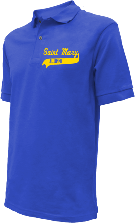 Saint Mary Elementary School Embroidered Polo Shirts