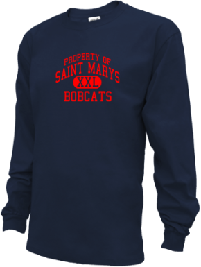 Saint Marys Middle School Kid Long Sleeve Shirts