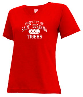 Saint Susanna School V-neck Shirts