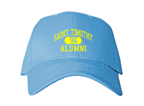 Saint Timothy School Embroidered Baseball Caps