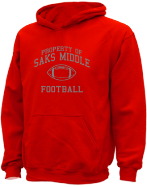 Saks Middle School Kid Hooded Sweatshirts