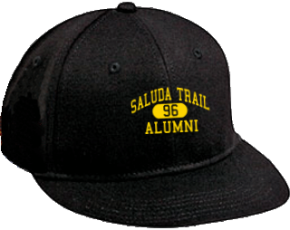 Saluda Trail Middle School Flat Visor Caps