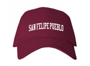 San Felipe Pueblo Elementary School Kid Embroidered Baseball Caps