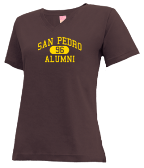 San Pedro High School V-neck Shirts