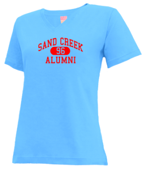 Sand Creek High School V-neck Shirts