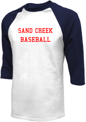 Sand Creek High School Raglan Shirts