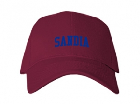 Sandia High School Kid Embroidered Baseball Caps