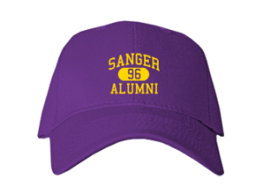 Sanger Middle School Embroidered Baseball Caps