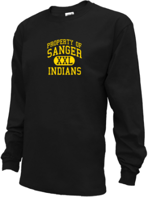 Sanger Middle School Kid Long Sleeve Shirts