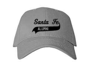 Santa Fe Elementary School Embroidered Baseball Caps