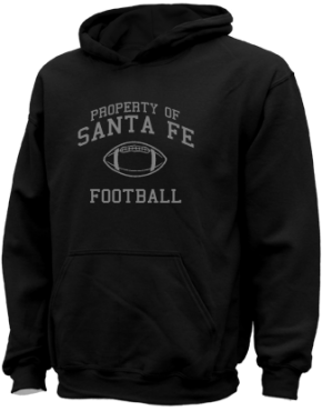 Santa Fe Elementary School Kid Hooded Sweatshirts