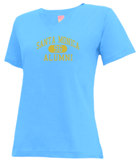 Santa Monica High School V-neck Shirts