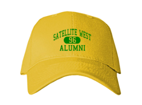 Satellite West Junior High School Embroidered Baseball Caps