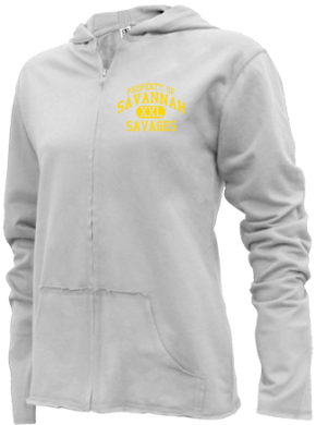 Savannah Middle School Girls Zipper Hoodies