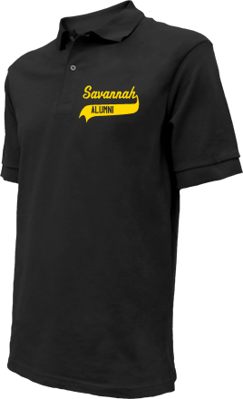 Savannah Middle School Embroidered Polo Shirts