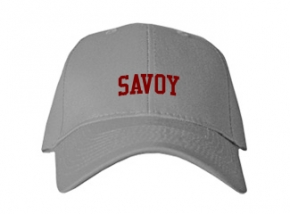 Savoy High School Kid Embroidered Baseball Caps