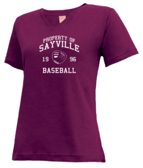Sayville High School V-neck Shirts