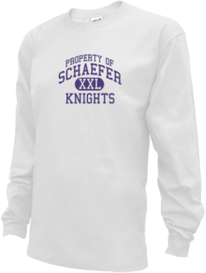 Schaefer Middle School Kid Long Sleeve Shirts