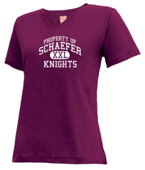 Schaefer Middle School V-neck Shirts
