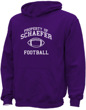 Schaefer Middle School Kid Hooded Sweatshirts