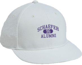 Schaefer Middle School Flat Visor Caps