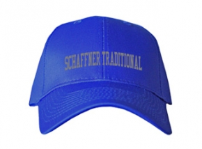 Schaffner Traditional Elementary School Kid Embroidered Baseball Caps