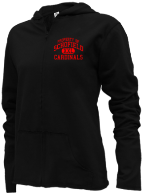 Schofield Elementary School Girls Zipper Hoodies