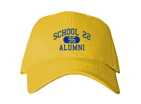 School 22 Embroidered Baseball Caps